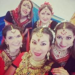 Индийский танец в Купчино