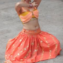 Юбочный индийский костюм в прокат. Залог 2000 руб. Прокат - 900