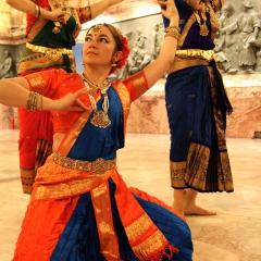 костюмы для классического индийского танца