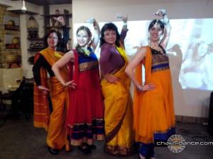"""Выступление студии индийских танцев """"Чакри"""""""