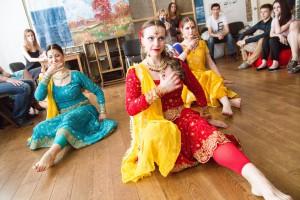 выступления студии индийского танца Чакри