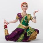 Русская танцовщица стиля кучипуди