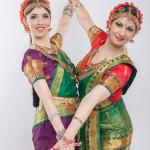 Прекрасен лик танцовщицы индийского танца